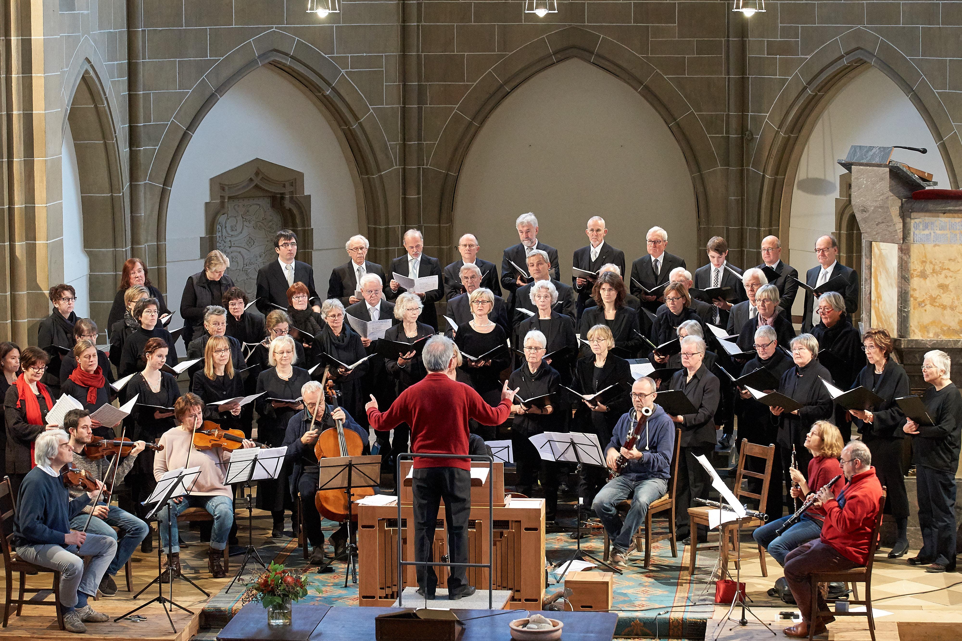 Die Kantorei der  Christuskirche Detmold  feiert ihr siebzigjähriges Bestehen